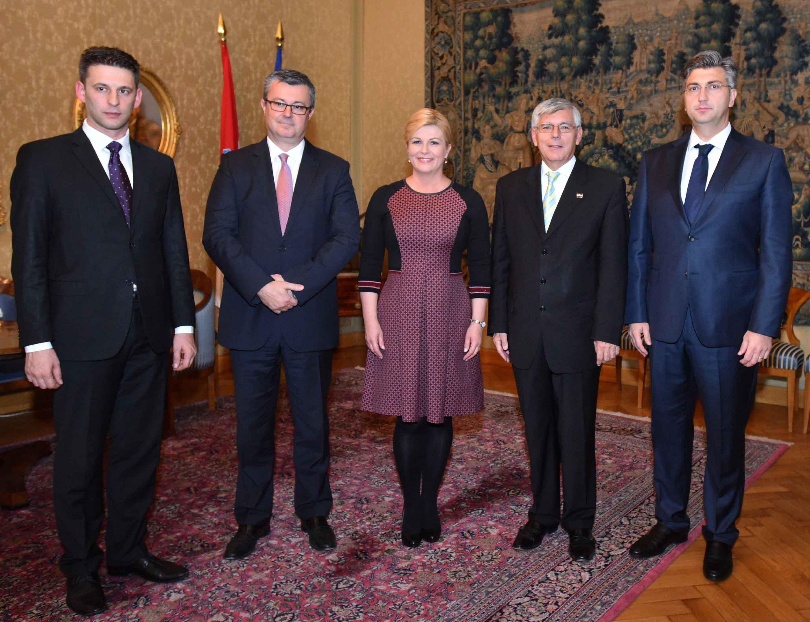 Predsjednica Republike na konstituirajućoj sjednici Hrvatskog sabora