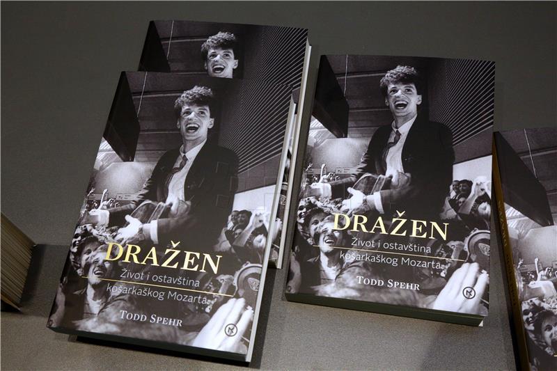 """Hrvatsko izdanje knjige – 'Dražen – život i ostavština košarkaškog Mozarta"""""""