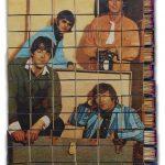 Marko Pogačnik OHO group The Beatles Matchboxes 1968 mixed media matchboxes 460 x 380 mm Marinko Sudac Collection