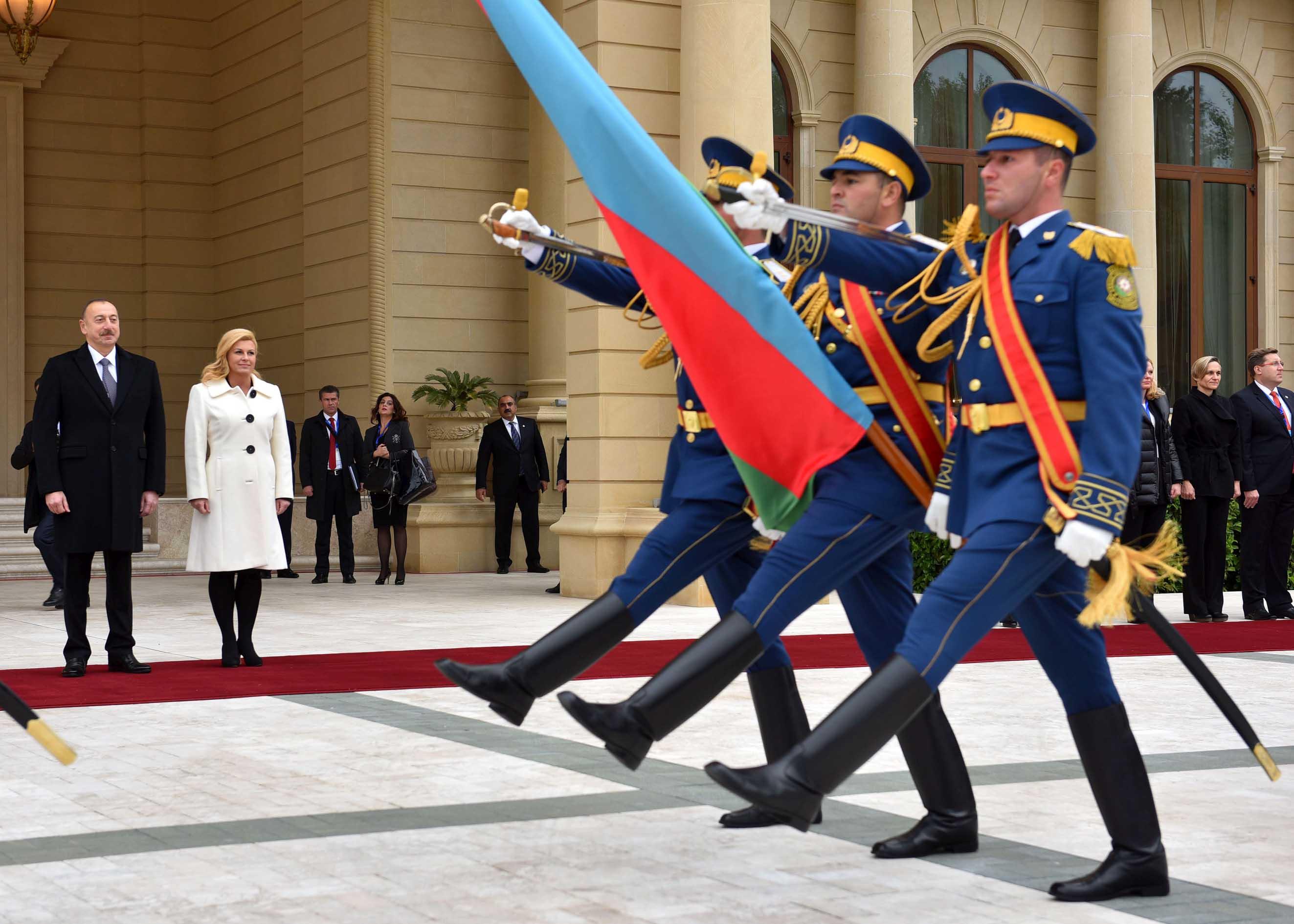 Predsjednica u službenom posjetu Azerbajdžanu