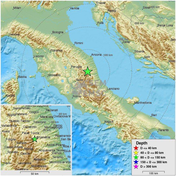 Potres u Italiji srušio brojne zgrade