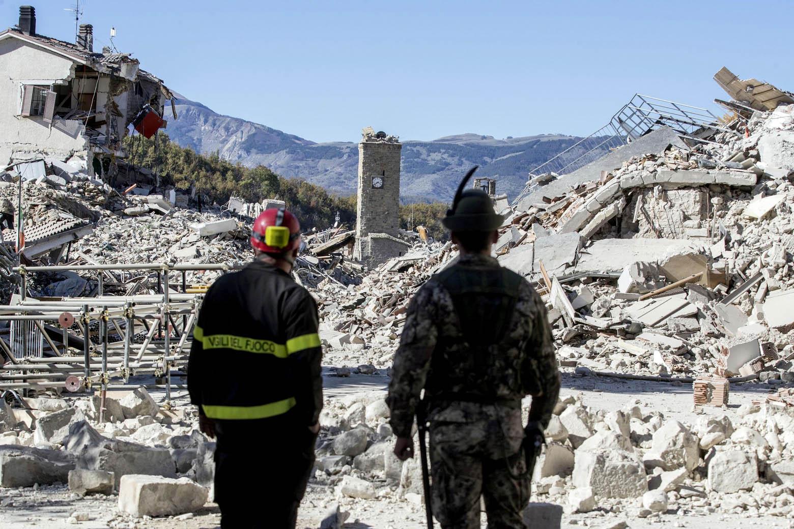 Tlo u Italiji pomaknulo se zbog potresa 70 centimetara