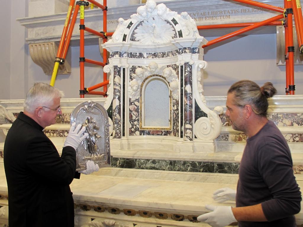 Vraćen stari oltar u dubrovačku katedralu
