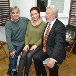1 Bilosnić s rumunjskim književnicima Danielom Dragomirescu i Monicom Manolachi