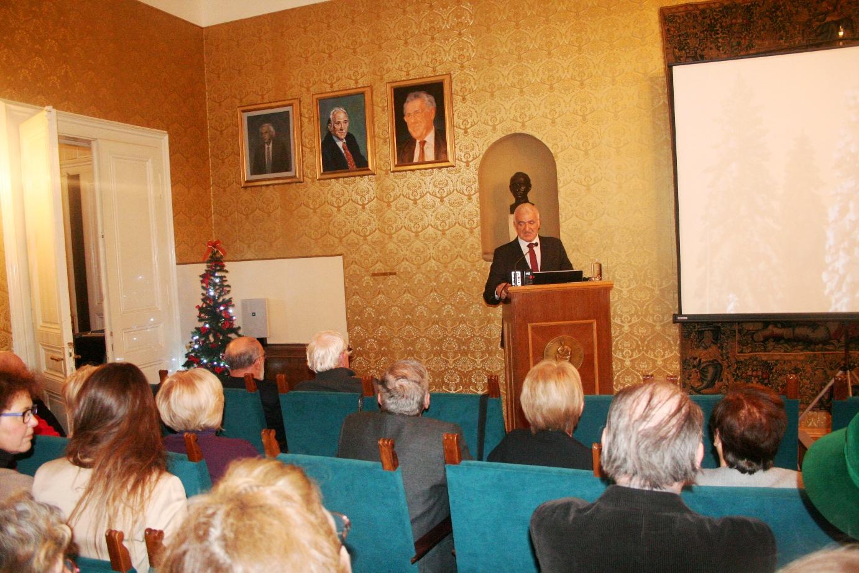 U HAZU održano tradicionalno božićno predavanje