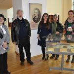 2.Bilosnić i Tatiana Radulescu u Nacionalnoj biblioteci Rumunjske