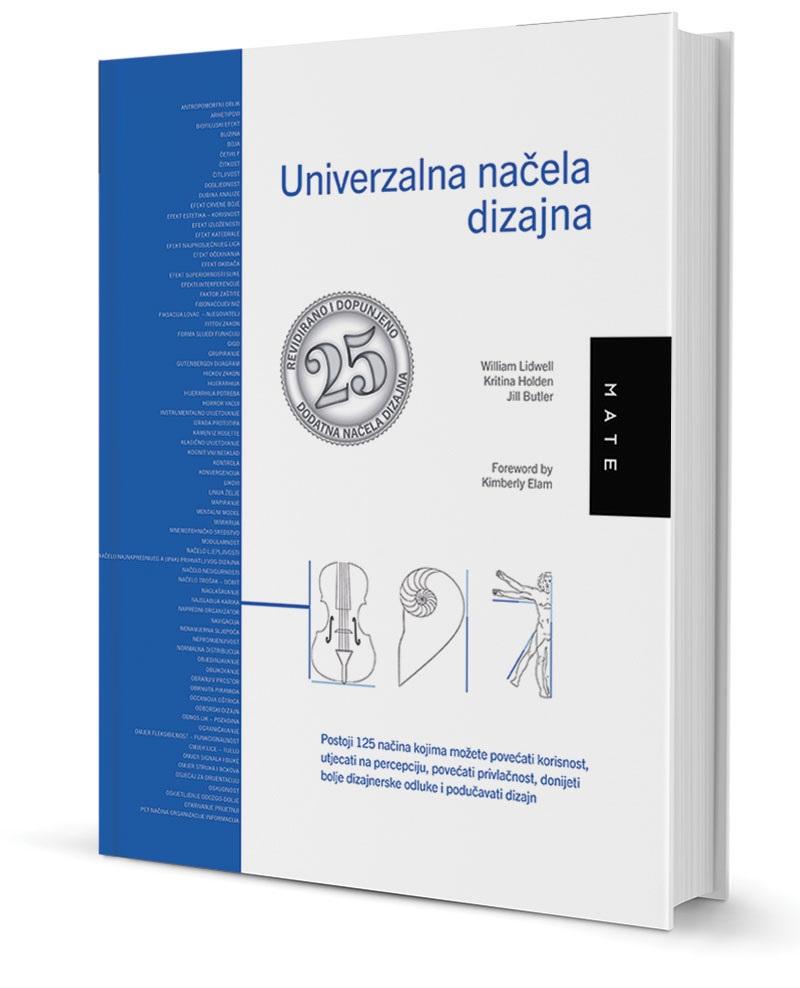 UNIVERZALNA NAČELA DIZAJNA – najnovije izdanje, jedinstveni priručnik za dizajnere u svim disciplinama!