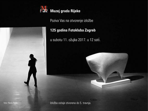 125 fotografija 125 godina Fotokluba Zagreb u Rijeci