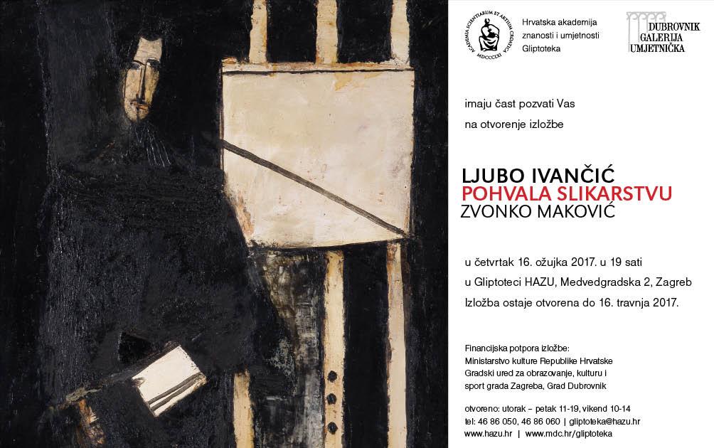 Izložba Ljube Ivančića: Pohvala slikarstvu