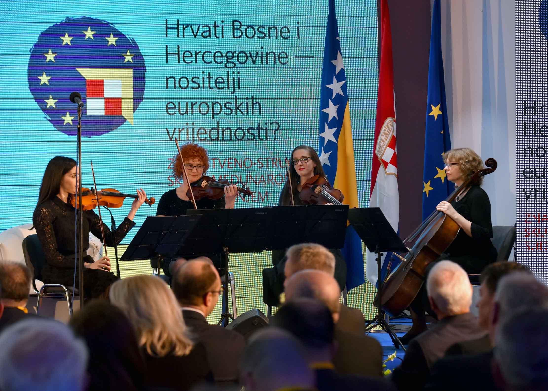 """Otvorena znanstvena konferencija """"Hrvati Bosne i Hercegovine – nositelji europskih vrijednosti"""""""
