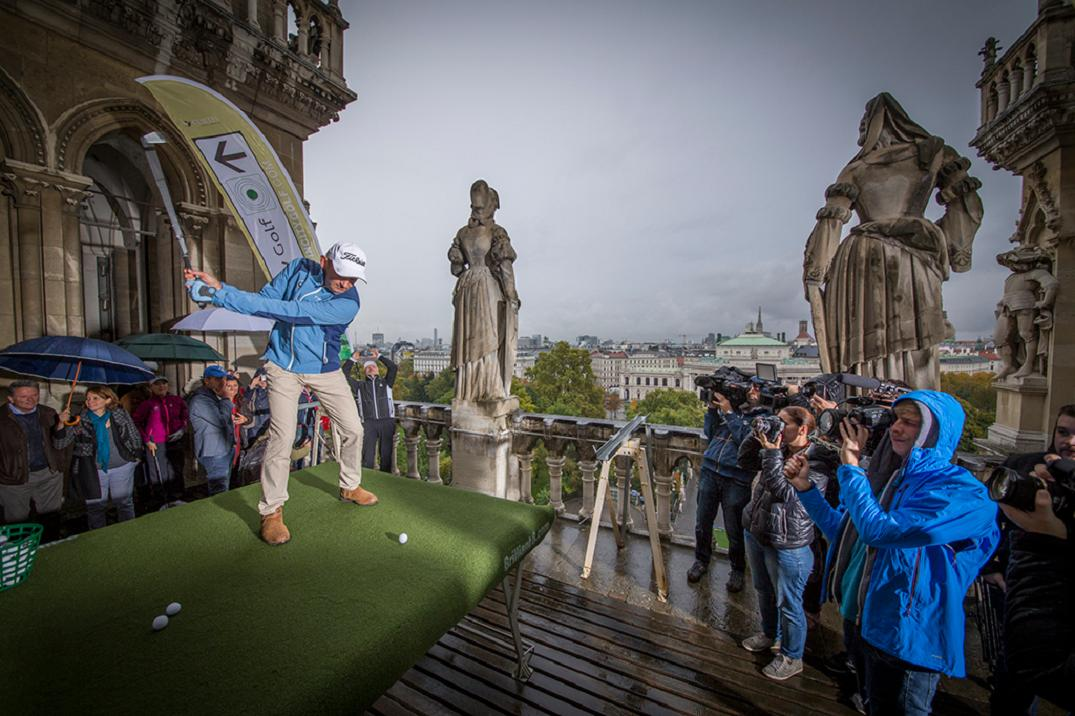 In city golf competition vienna Markus Brier
