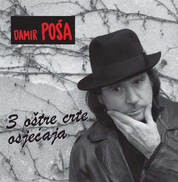 Novi autorski album Damira Poše – 3 oštre crte osjećaja