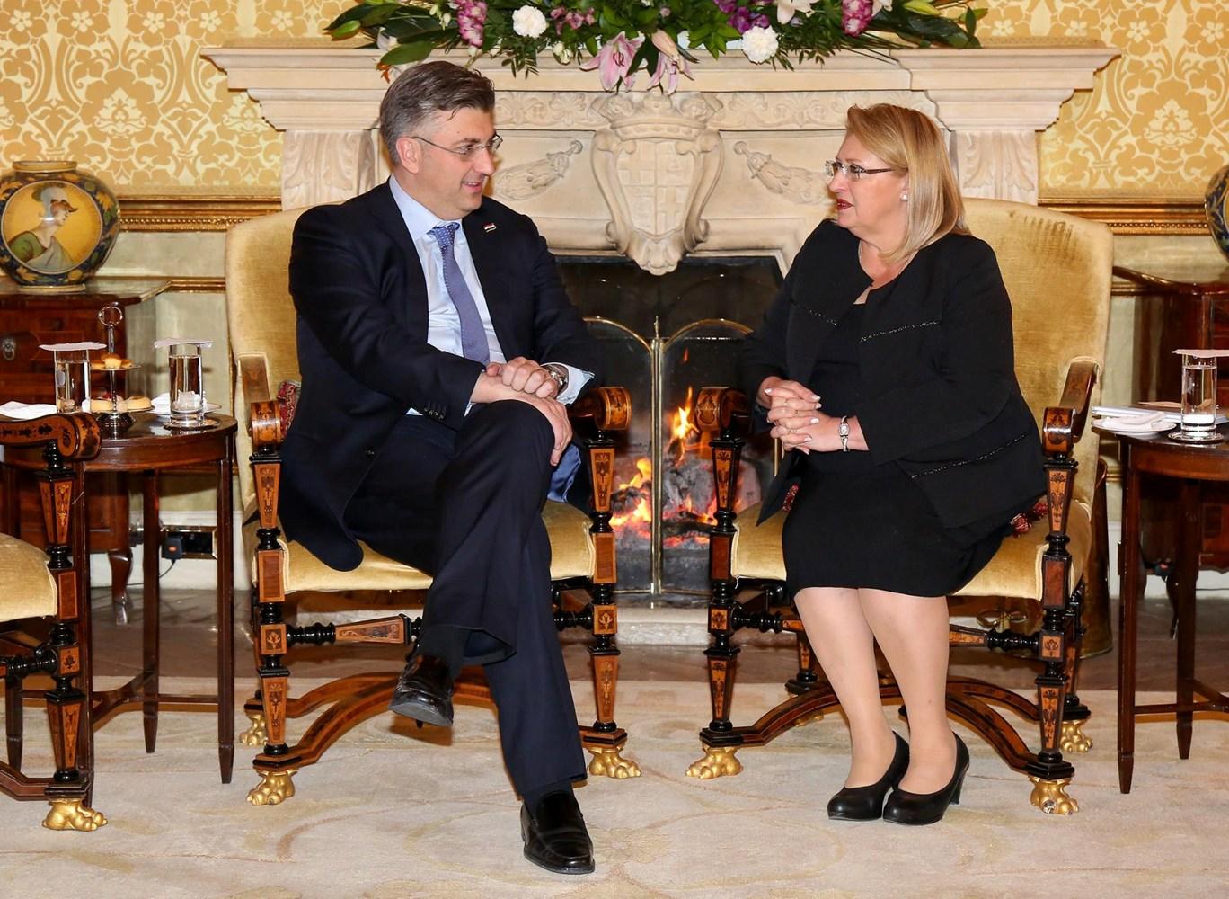 Želimo unaprijediti političke i gospodarske odnose Hrvatske i Malte