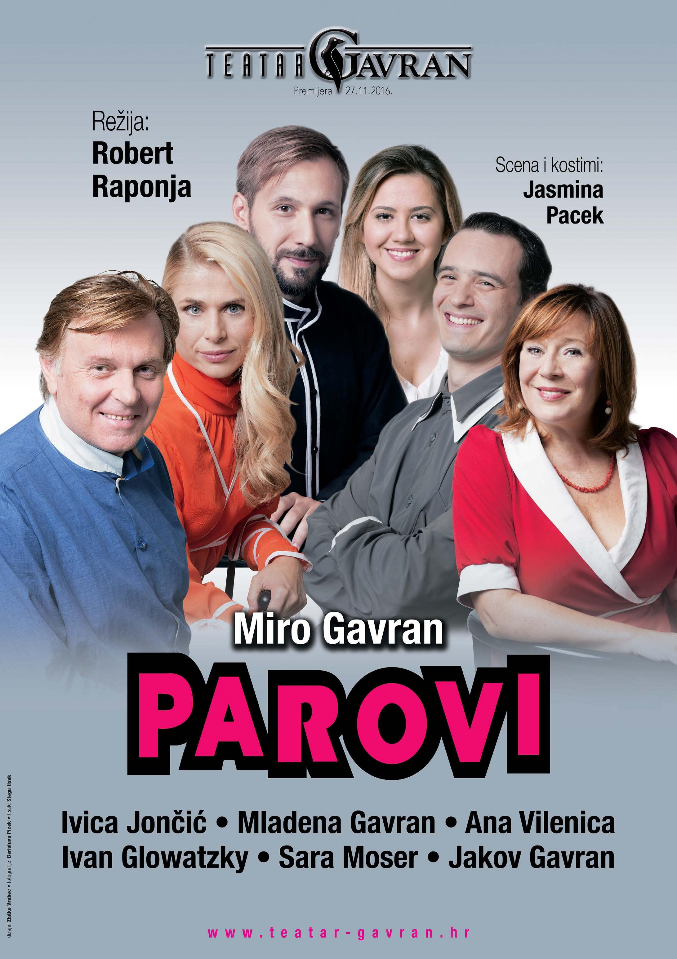 Teatar GAVRAN u Lisinskome – travanj i svibanj 2017.