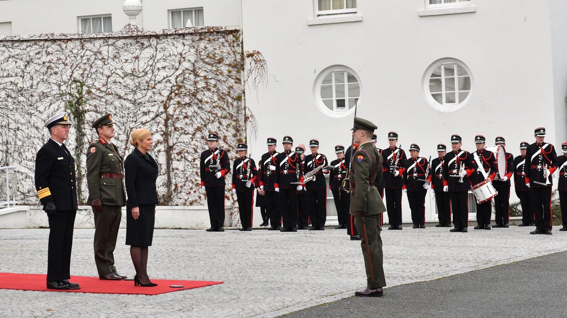 Predsjednica Republike u državnom posjetu Irskoj
