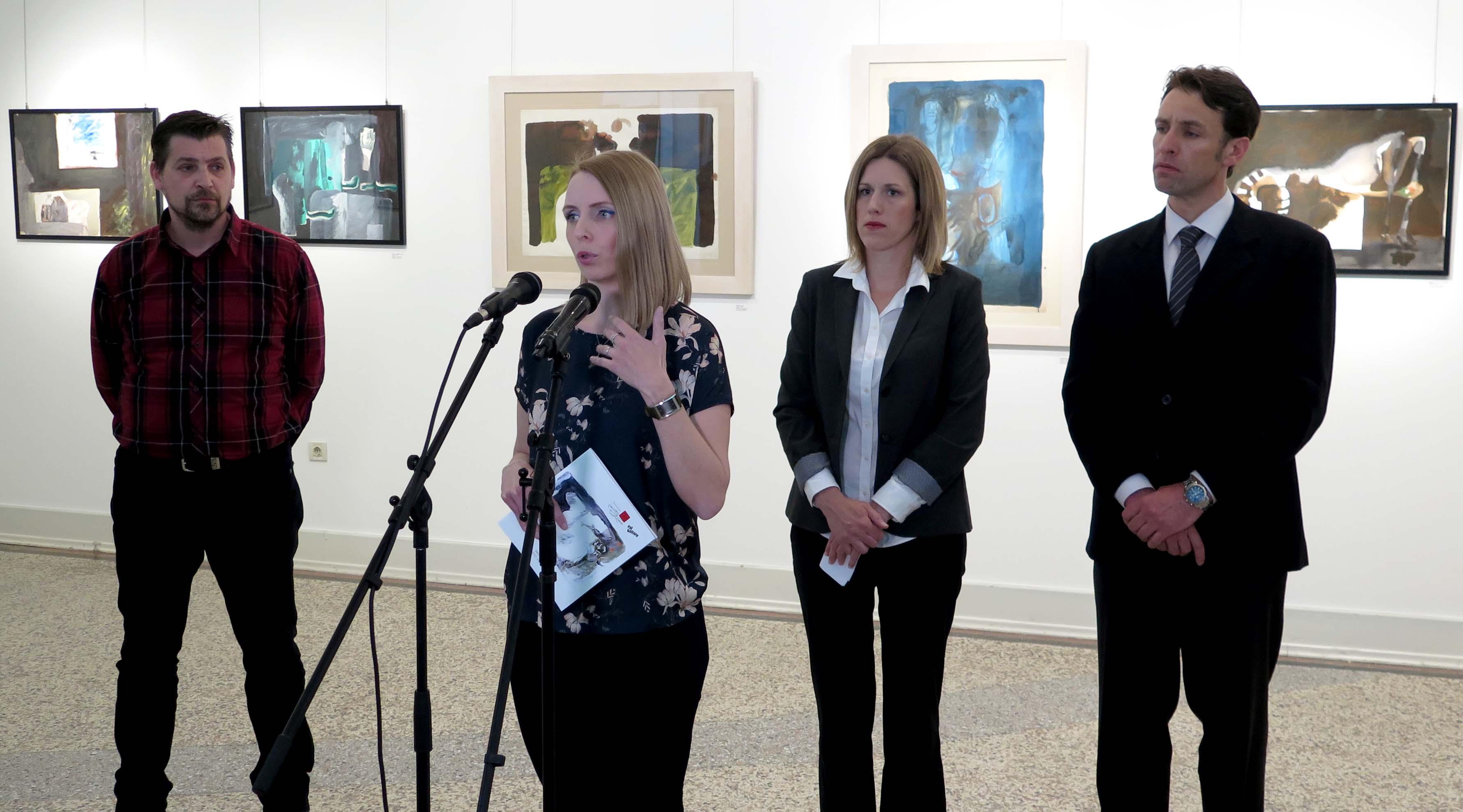 Otvorena izložba Ive Šebalja u Opatiji: Slikarstvo traži vrijeme