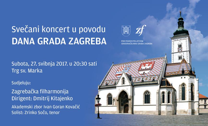 Gradu na dar – Zagrebačka filharmonija svečanim koncertom obilježava Dan grada Zagreba