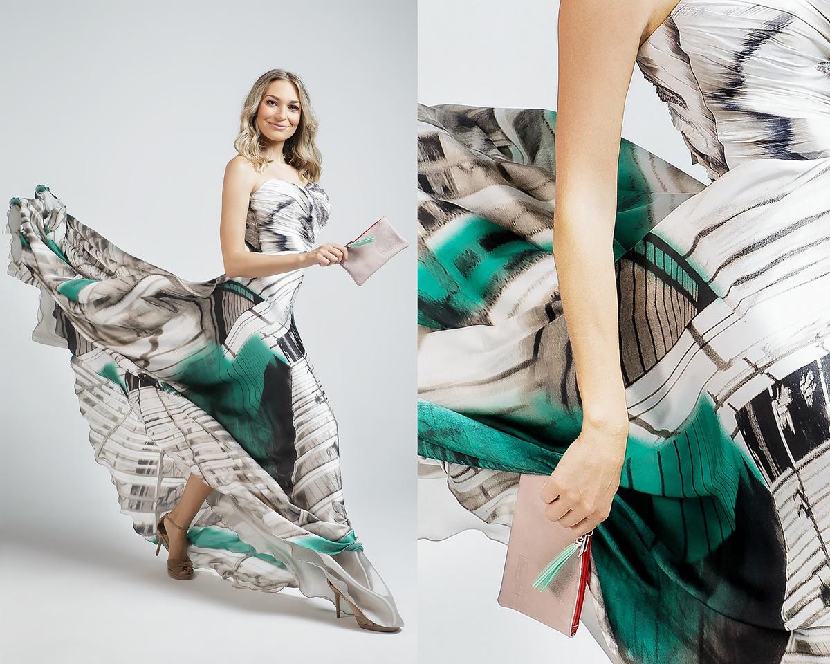 Sonja Kovač sjajno nosi limitiranu kolekciju torbica dizajnera Ivice Skoke