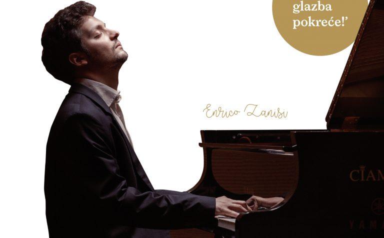 Enrico Zanisi – enfant prodige talijanskog jazza gostuje u Koncertnoj dvorani braće Bersa