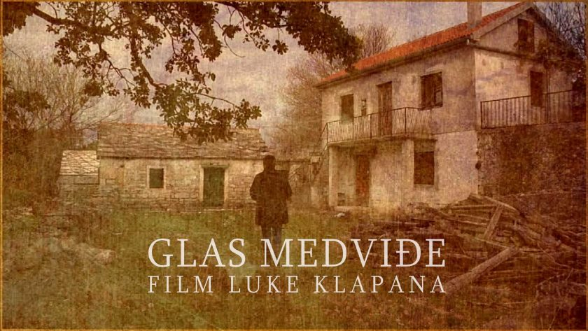 Film Luke Klapana Glas Medviđe prikazat će se u Benkovcu, Obrovcu i Biogradu na Moru