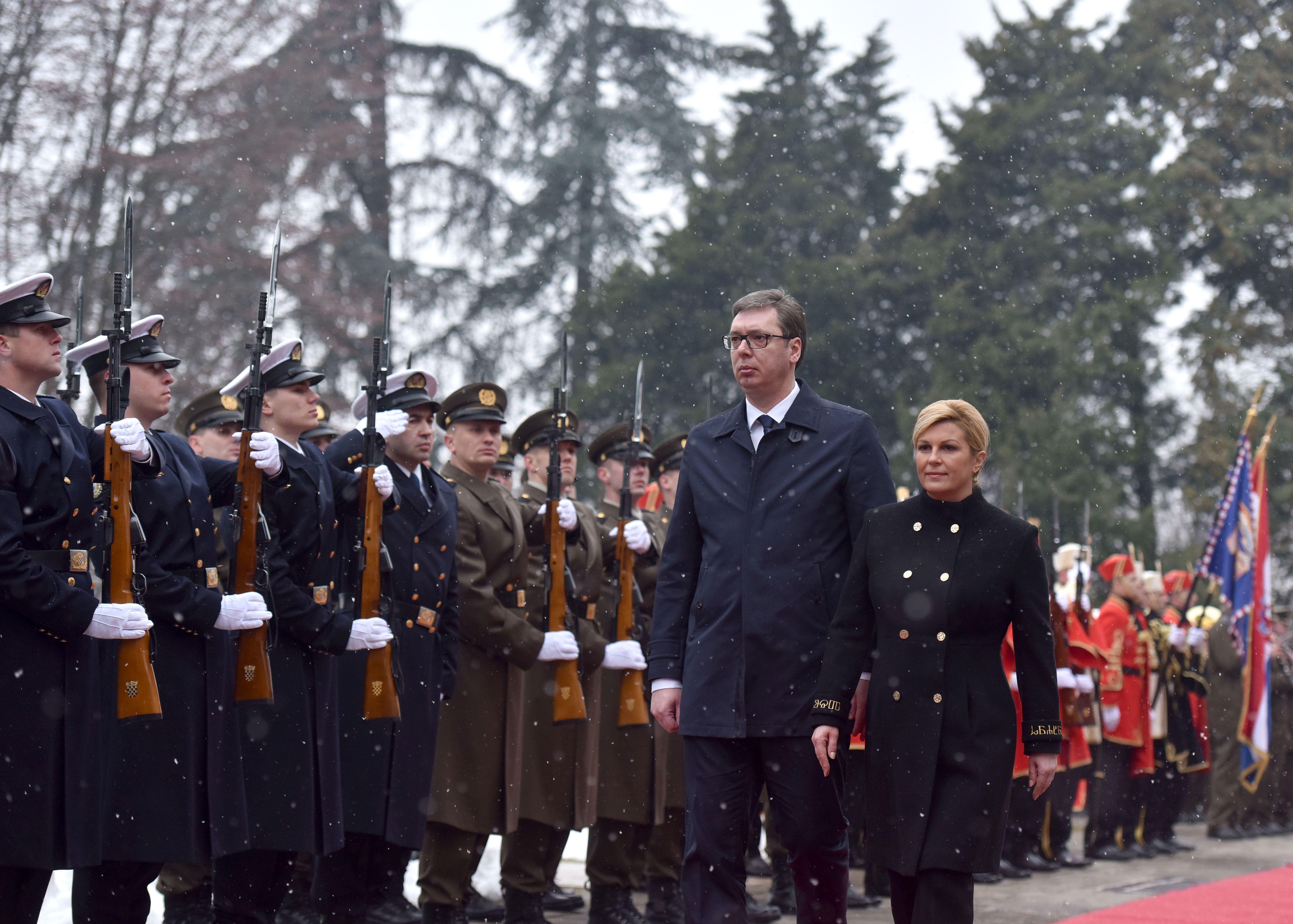 Predsjednik Republike Srbije u službenom posjetu Republici Hrvatskoj