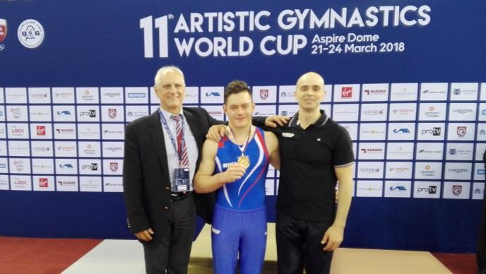 Svjetski prvak opet zlatni, Tin Srbić slavio u Dohi