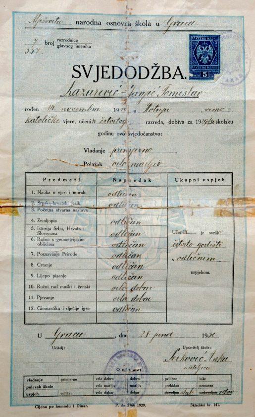 Nadarenom sveučilištaracu obitelj nikada nije saznala za grob – O Tomislavu Lazareviću Janjiću