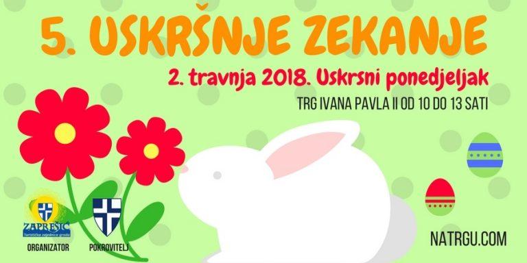 Uskršnje zekanje u Zaprešiću