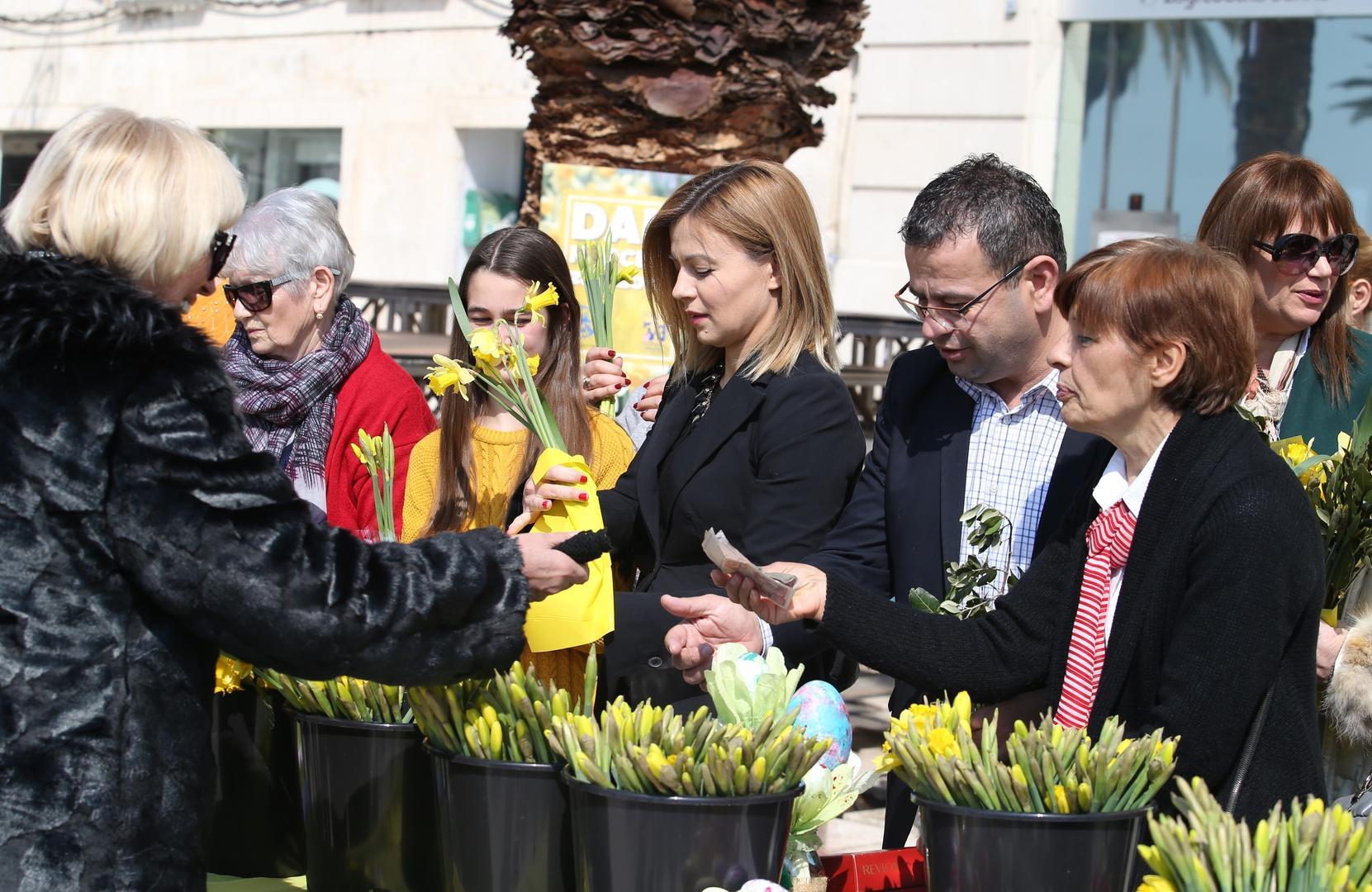 Obilježen Dan narcisa u Zagrebu