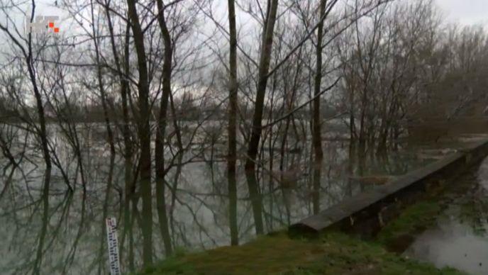 U Jasenovcu izmjeren najviši vodostaj Save u povijesti
