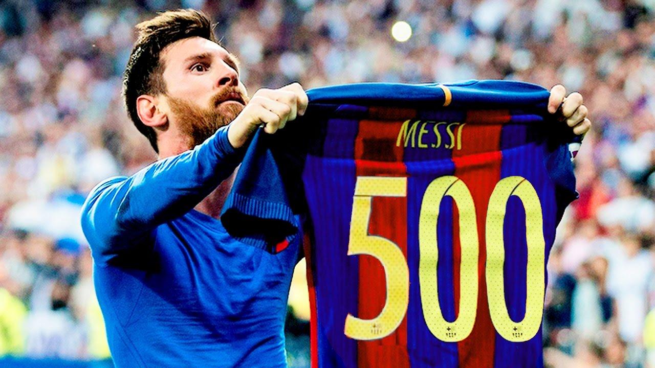 Leo Messi postigao svoj 500. pogodak u dresu Barcelone s brojem 10