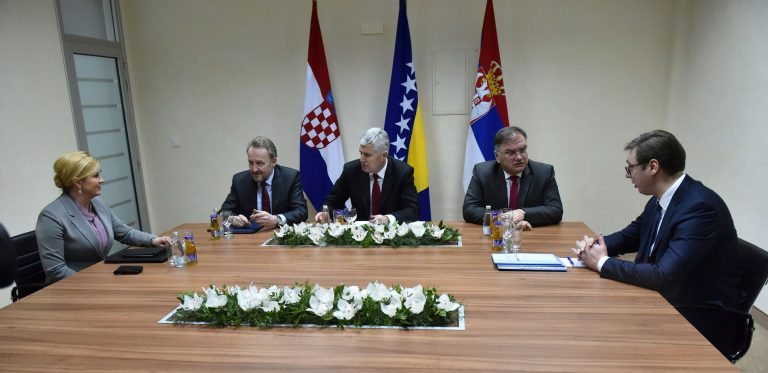 Grabar-Kitarović u Mostaru pozvala na dogovor o novom izbornom zakonu BiH