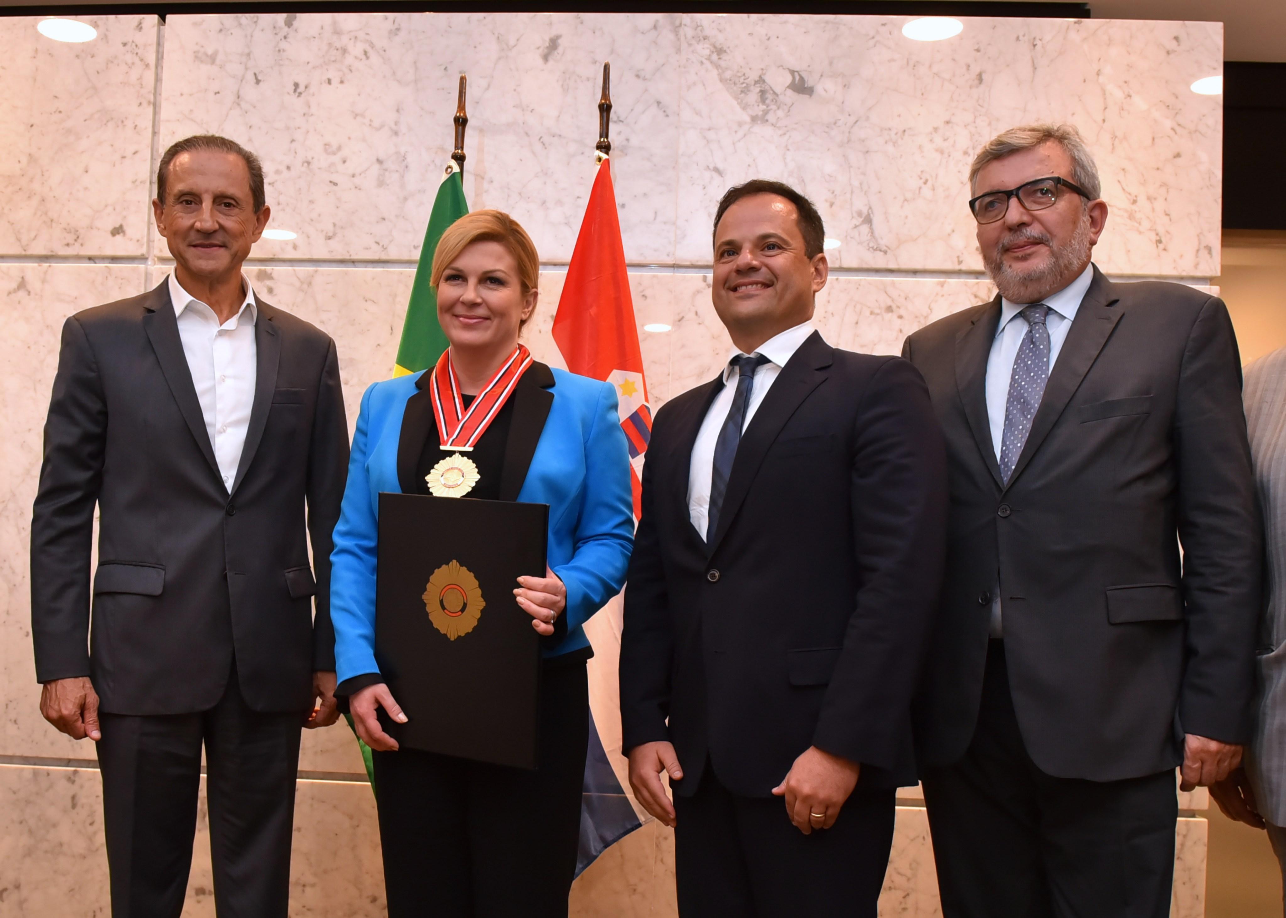 Predsjednica završila radni posjet Saveznoj Republici Brazilu