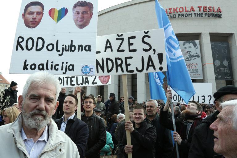 Tisuće Hrvata uputilooštru poruku Vladi: 'Odlazite izdajnici Hrvatske'
