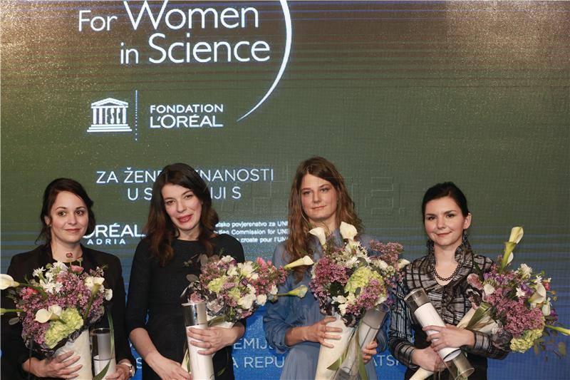 Četiri mlade znanstvenice nagrađene stipendijama L'Oreal-UNESCO