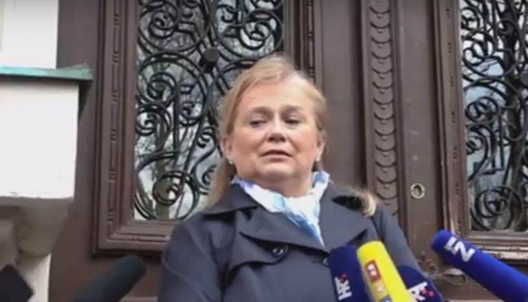 Izjava za medije tužiteljice Natalije Slavice nakon izricanja presude Davidu Komšiću