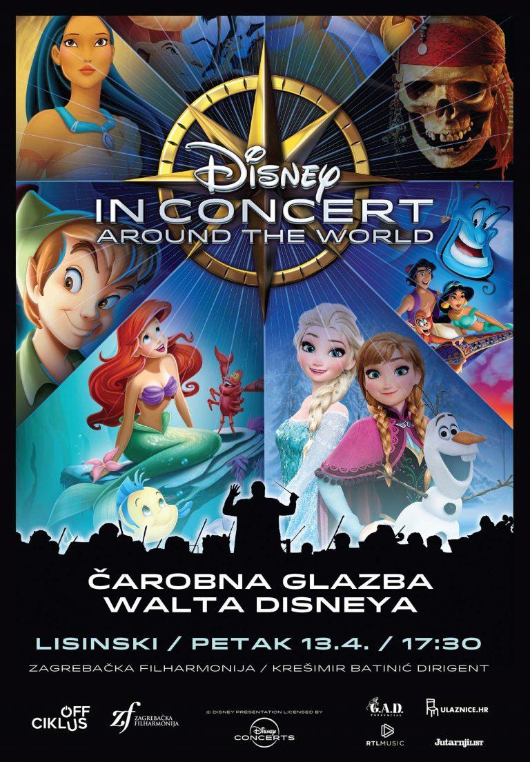 "Drugi termin ""Čarobne glazbe Walta Disneya"" u prodaji!"