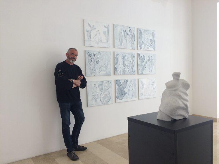U Umjetničkoj galeriji Brčko distrikta otvorena izložba kipara Petra Hranuellija