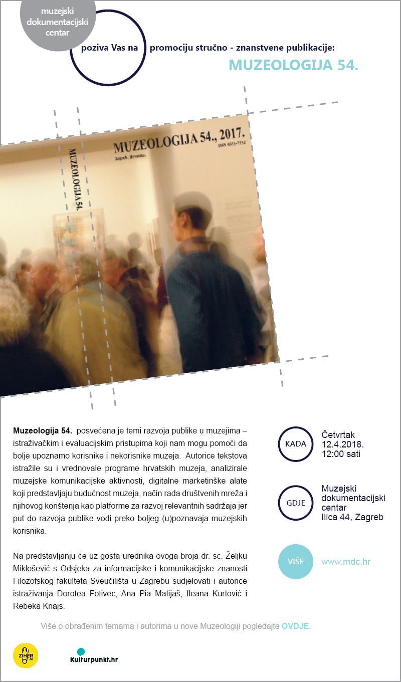 MDC / promocija Muzeologije 54.