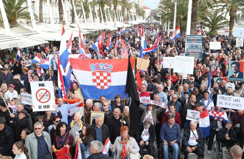 Split: Skup građanske inicijative Hrvatska protiv Istanbulske konvencije