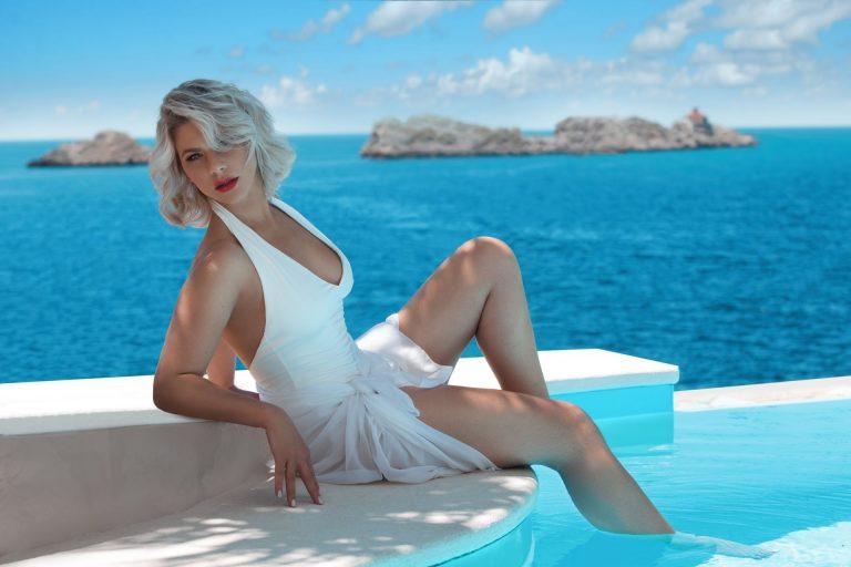 Njima je ljeto već počelo! Ana Vilenica i Ana Begić na bazenu u Dubrovniku
