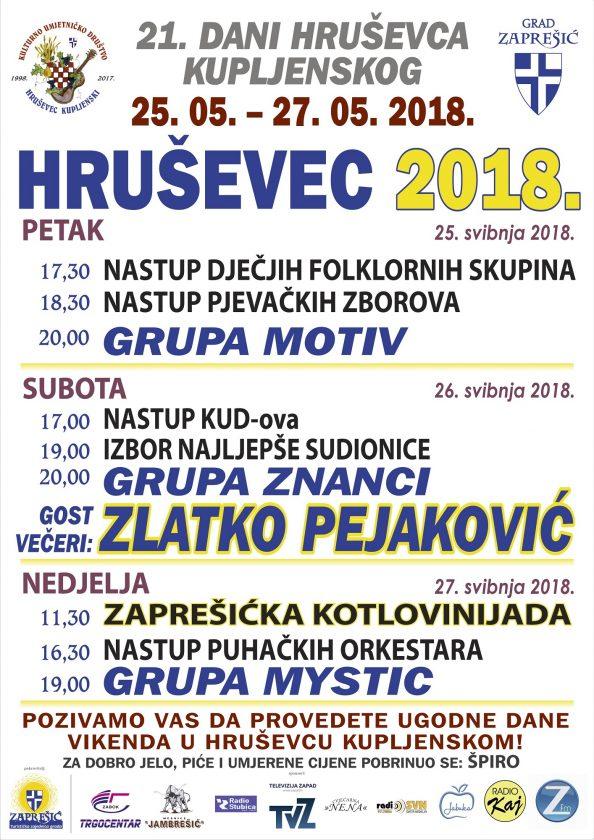 SMOTRA FOLKLORA – 21. Dani Hruševca Kupljenskog