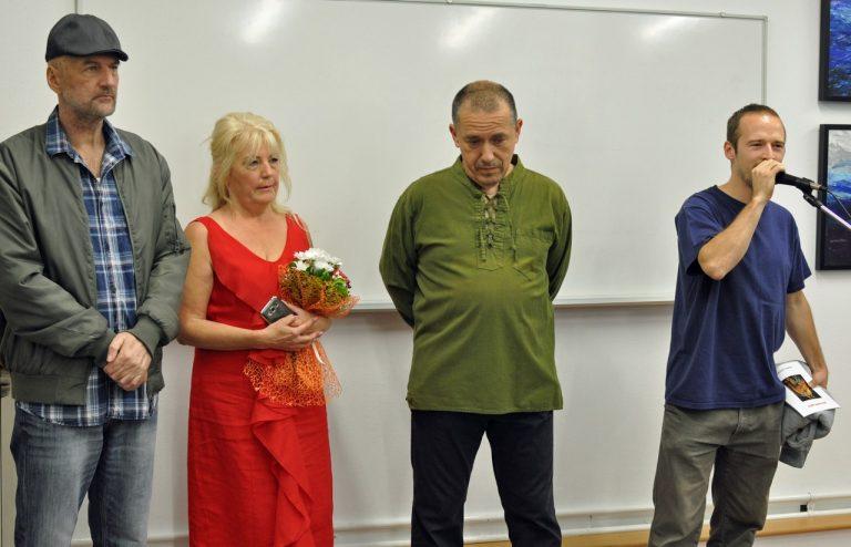 U zagrebačkoj Galeriji Sunce otvorena izložba Nikole Majića i Danice Kuštrak / Foto!