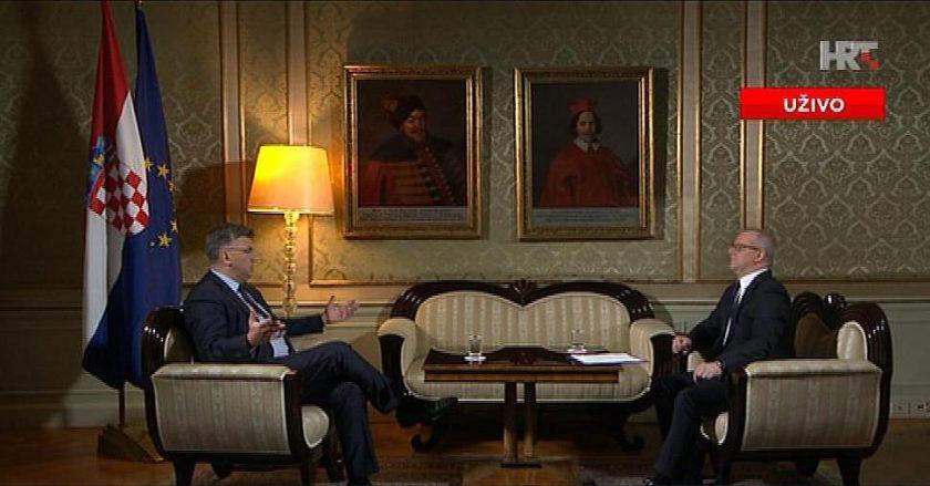 Plenković: S ovako velikim suficitom možemo odgovorno voditi državu
