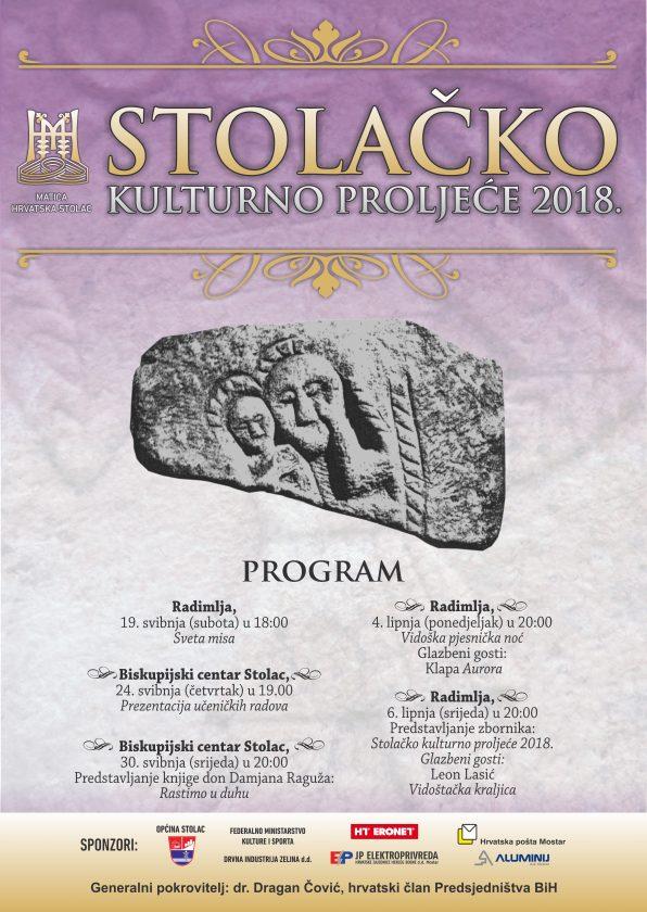 Posjetite Stolačko kulturno proljeće, od 19. svibnja do 6. lipnja