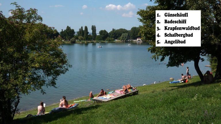 U Beču su zbog iznimno visokih temperatura otvorena gotova sva kupališta