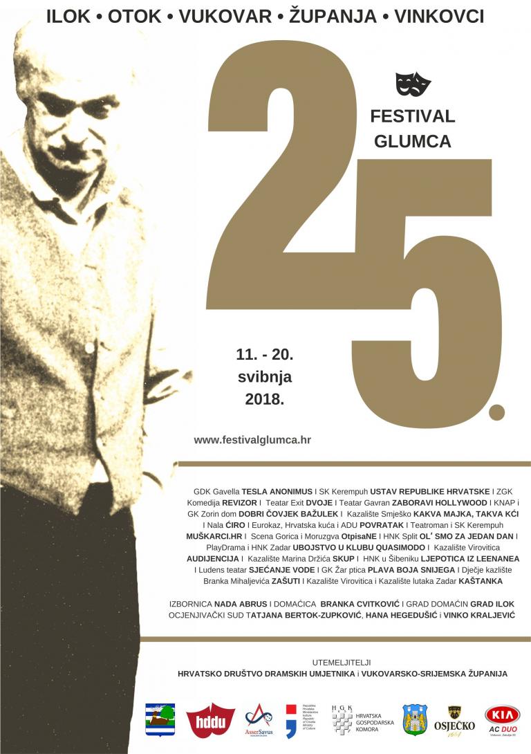 U petak počinje 25. festival glumca / Program