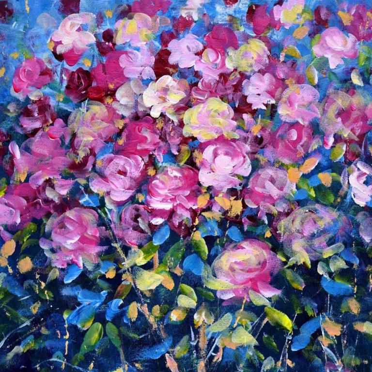 Infinity Roses – slike na platnu Stjepana Katića