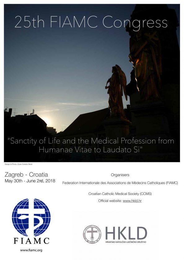 Zagreb domaćin 25. jubilarnog kongresa Svjetskog saveza liječnika katolika