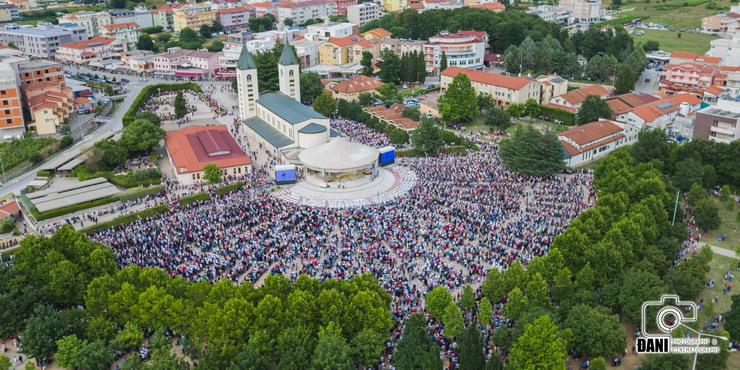 Svečano proslavljena 37. godišnjica ukazanja u Međugorju